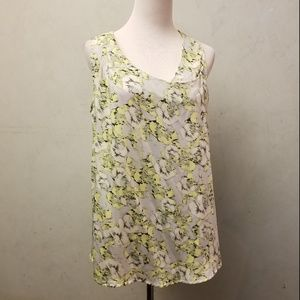 French Connection floral wrap top (L12)
